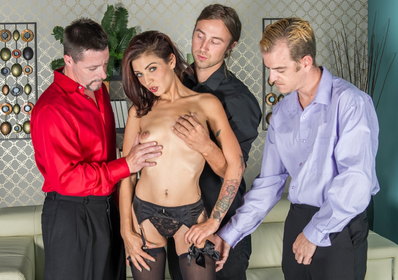 The stripper experience vyxen steel gets her ass fucked 9