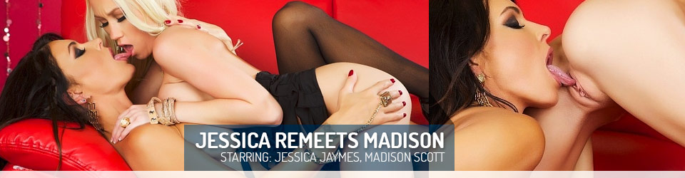Jessica Jaymes and Madison Scott Lesbian love